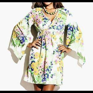 🌻🌻HP 9/9🌻🌻 PLUS SIZE KIMONO STYLE DRESS