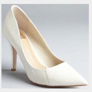 Dolce Vita white heels 36