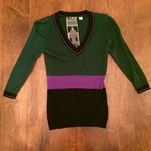 L.A.M.B • sweater • NWOT • quarter length sleeves