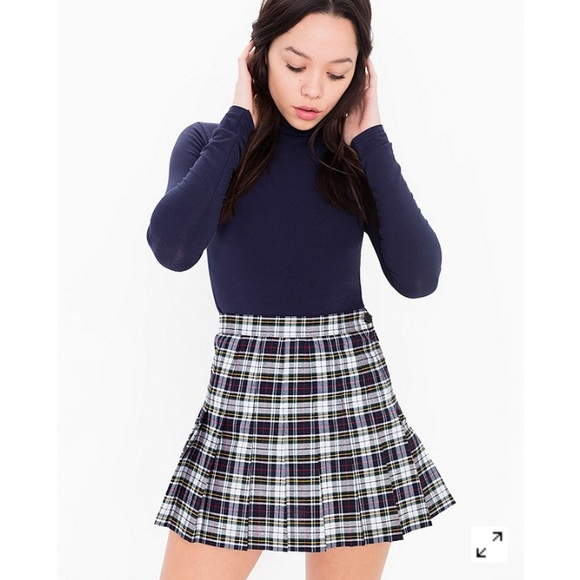 31% off American Apparel Dresses & Skirts - Plaid Tennis Skirt ...