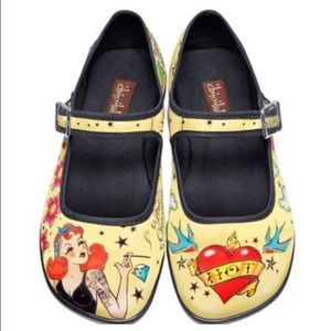 Tatto Style Shoes