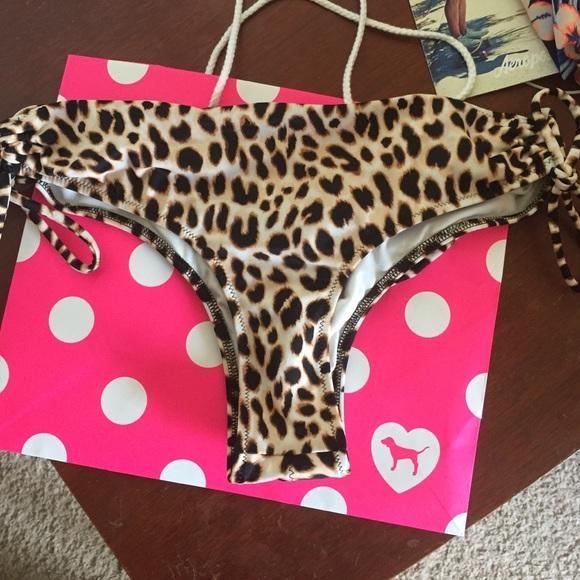3a8bc7f9b512e Cheetah print cheeky bikini bottom