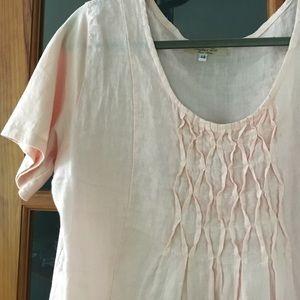 67% off Couleur Lin Dresses & Skirts - Beautiful light pink linen ...
