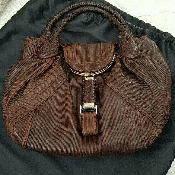 28d087eabb62 FENDI Bags | Spy Bag Limited Edition Corded Leather | Poshmark