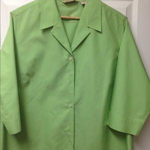 Eddie Bauer All Cotton Blouse - 1X