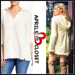 Hoodie Tunic Poncho Pullover
