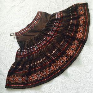 Bernardo Dresses & Skirts - Bernardo embroidered skirt