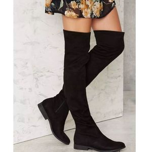 Nasty Gal Shoes - NEW Nasty Gal Over the Knee Boots
