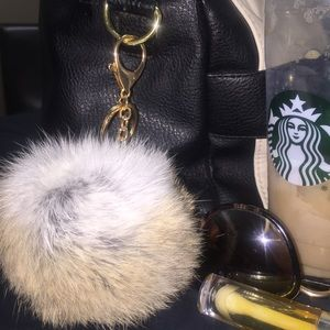 Accessories - SOLD OUT! Faux Fur Keychain