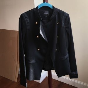 The Limited black double breasted blazer
