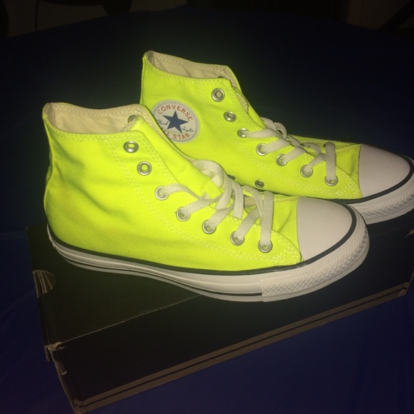 dc3e5ebb704f Converse Shoes - Bright Yellow Converse Size 6 Men 8 Women