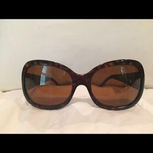 Tortoise Prada sunglasses, like brand new