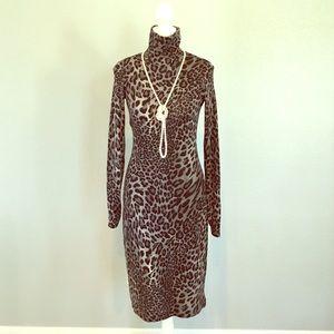 CACHE ANIMAL PATTERNED DRESS!