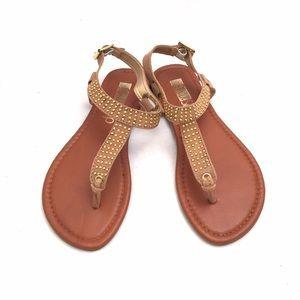 ShuShop Shoes - ShuShop Camel Sandals