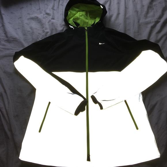 Nike iridescent womens running jacket