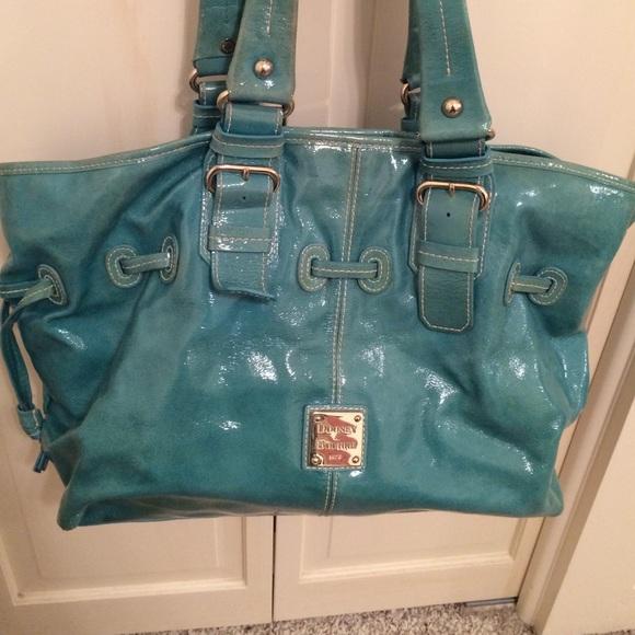 942a37a181 Dooney   Bourke Handbags - Large Aqua chiara dooney and bourke bag