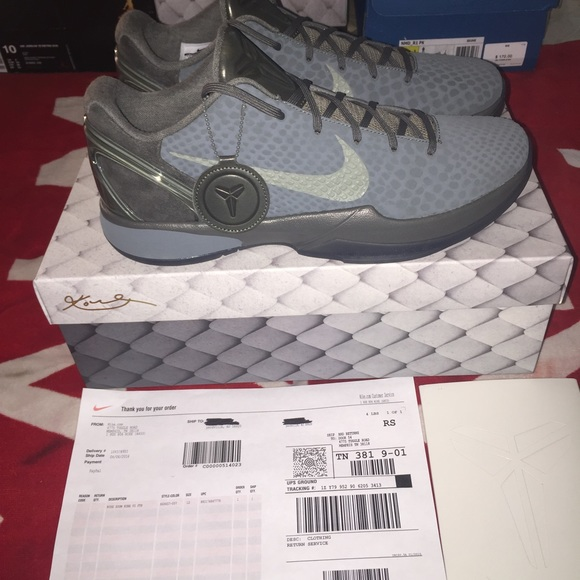 Shoes | Kobe 6 Fade To Black Size 12