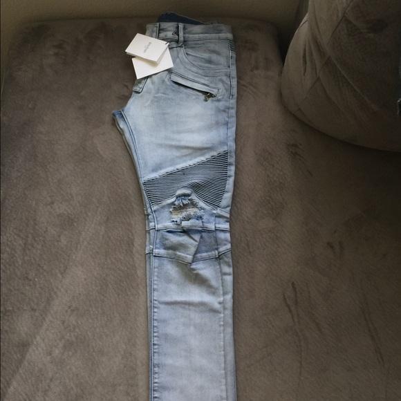 4f2aab00a6 Balmain Jeans   For Men Size 34 36   Poshmark