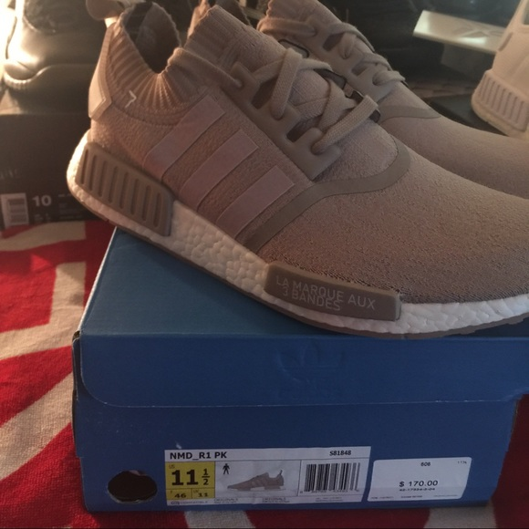 huge selection of 429ca ebd30 Adidas NMD French beige new size 11.5