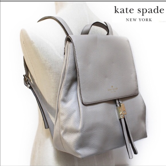 brand quality replicas new products 🎉HP 06/19🎉🆕$375 KATE SPADE WILDER GREY BACKPACK NWT