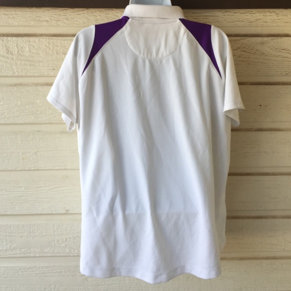 67 Off Tops Ladies Xxl Polyester Golf Shirt From April