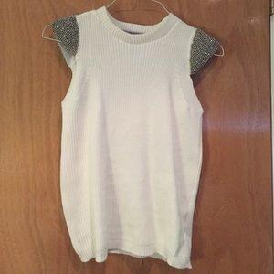 Zara knit creme color size medium