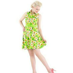 """Voodoo Vixen Dresses & Skirts - 🐸 🌻 """"FLORAL PRINT"""" DRESS BY VOODOO VIXEN 👗🍒"""