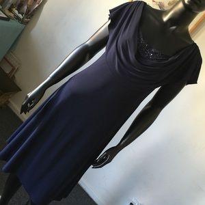Connected apparel Dresses & Skirts - Amazing cocklait blue dress FINAL SALE