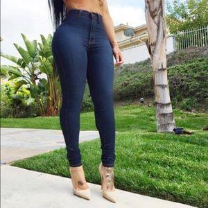Vibrant M.I.U Classic High waist skinny jeans
