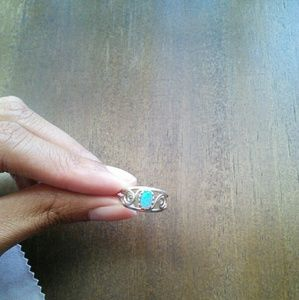 Jewelry - Blue Opal Ring 💕reserved💕