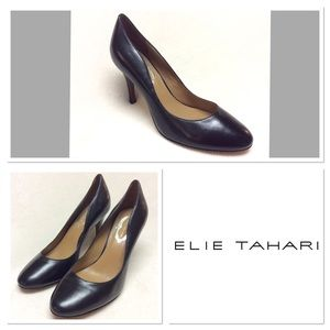 Elie Tahari Shoes - 39  ELIE TAHARI  Black Leather Pumps