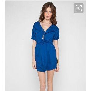 Royal Blue Peppermint Dress