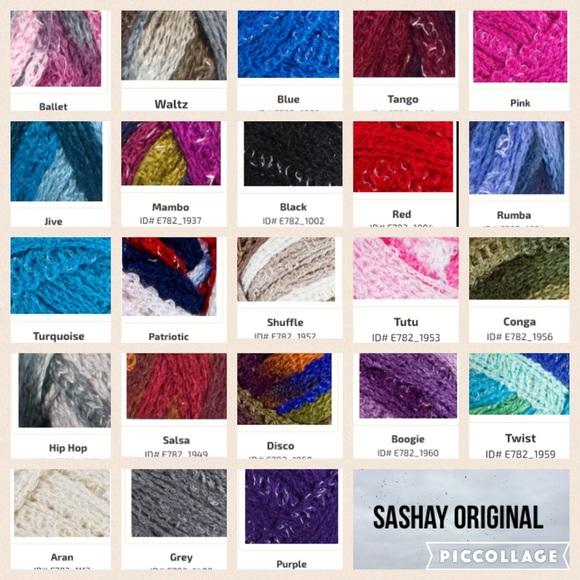 Sashay Scarf Colors