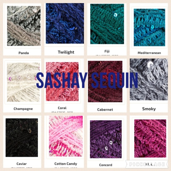 Sashay Yarn Colors