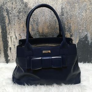 Kate Spade Navy Bow - Medium Size Satchel
