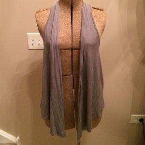 Other - Grey cardigan vest