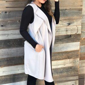 Jackets & Coats - Tan Vest