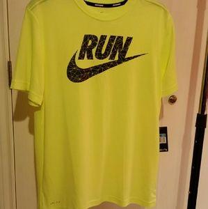 Nike running dri - fit shirt