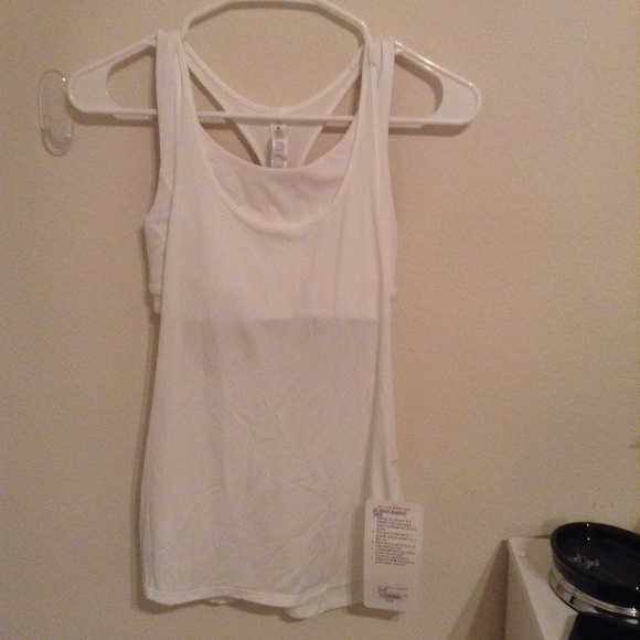 957a49cb43 Lululemon workout shirt with attached sports bra