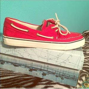 Sperry Shoes - BRAND NEW RED SPERRYS!!!!