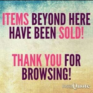 Thank you for shopping my closet!!!!!