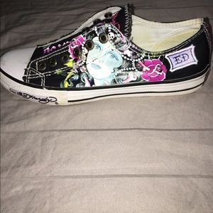 f0c02a80b9 Ed Hardy Shoes - PRICE DROP  25 ED HARDY LACELESS SNEAKERS