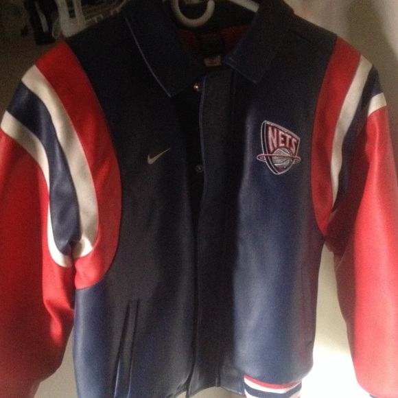 Rare New Jersey Nets Jacket