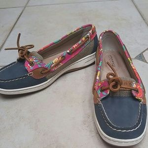 Sperry Top-Sider Shoes - SPERRY ANGELFISH LEATHER TOPSIDERS