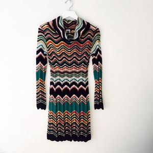 M Missoni multi knit dress