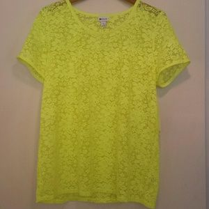 Stylus Tops - Lace Top