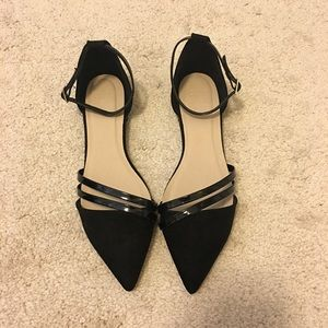ASOS Shoes - ASOS Strappy Pointed Toe Flats