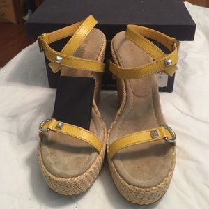 Prada Wedge Sandals-Authentic