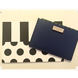 kate spade Handbags - 🆑 Kate Spade Blue Scalloped Card Holder
