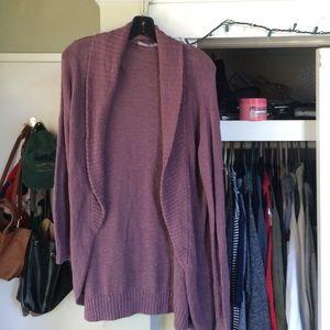 Purple Nordstrom cardigan